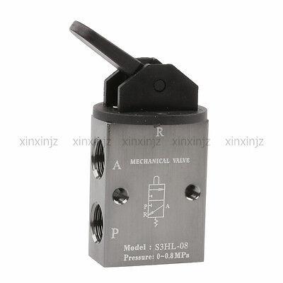 S3hl-08 2 Position 3 Way Manual Handle Control Pneumatic Mechanical Valve