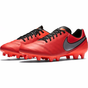 Nike Tiempo Genio II Leather Firm Ground Mens Football Cleats