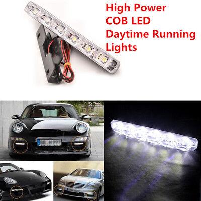 6-LED Daytime Running Light DRL Fog Lamp Day Lights Daylight 12V For All Car (5 Day Cruises)