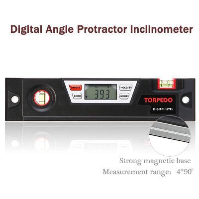 Lcd Digital Angle Finder Gauge Meter Protractor Inclinometer Spirit Level