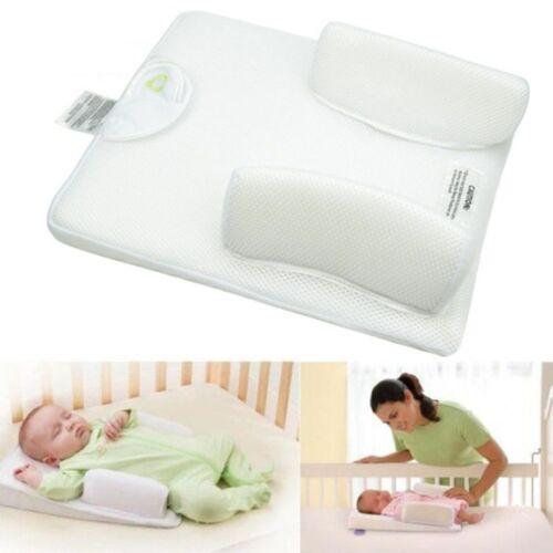 Купить Unbranded - US Newborn Infant Anti Roll Pillow Sleep Positioner Prevent Flat Head Cushion