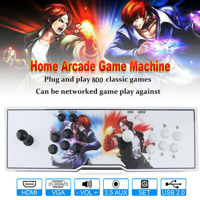800 Video Games in 1 Pandora's Box 4s Home Arcade Console Retro Gamepad HDMI USB