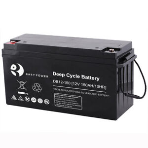 150ahr NEW*AGM DEEP CYCLE SOLAR BATTERIES