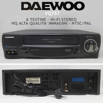 VIDEOREGISTRATORE VHS SEG VCR 306 LETTORE VCR CASSETTE VINTAGE FUNZIONANTE