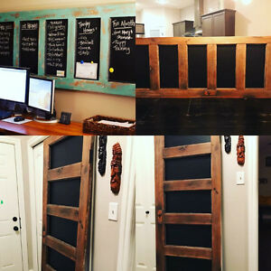 Refurbished Antique Chalkboard Door!!!