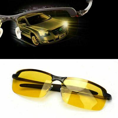 Sunglasses Prevention Glasses Polarized Night Vision Aviator Driving Yellow (Yellow Polarized Glasses)
