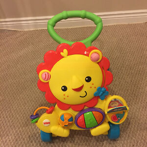 Baby Toys - Fisher-Price - Musical Lion Activity Walker