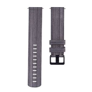 Large - Fitbit - Woven Nylon Wristband for Fitbit Versa Watch
