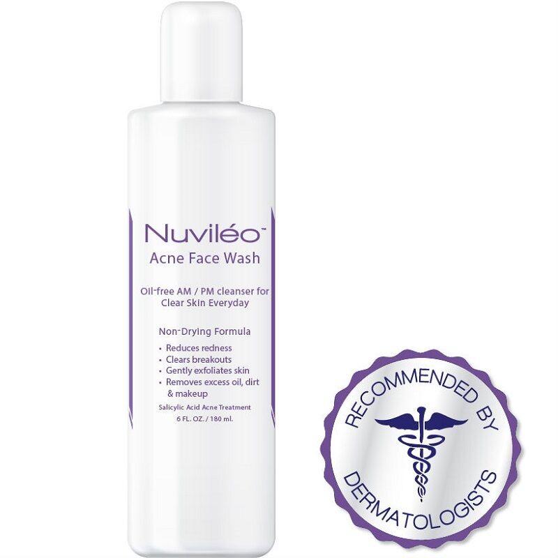 Nuviléo Acne Face Wash Treatment 2% Salicylic Acid for Horm