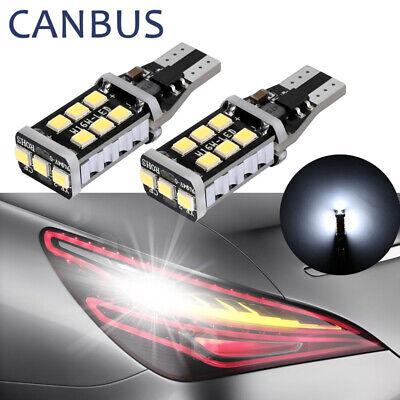 2X 912 921 T15 W16W Backup Reverse Light Super Bright White Canbus LED Bulb EOA