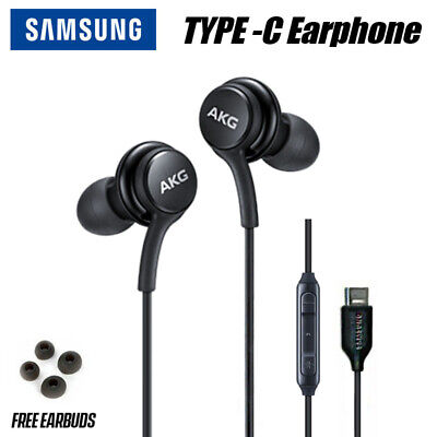 New OEM Samsung Galaxy Note 10+ Plus AKG Earphones Earbuds Type C Headphone