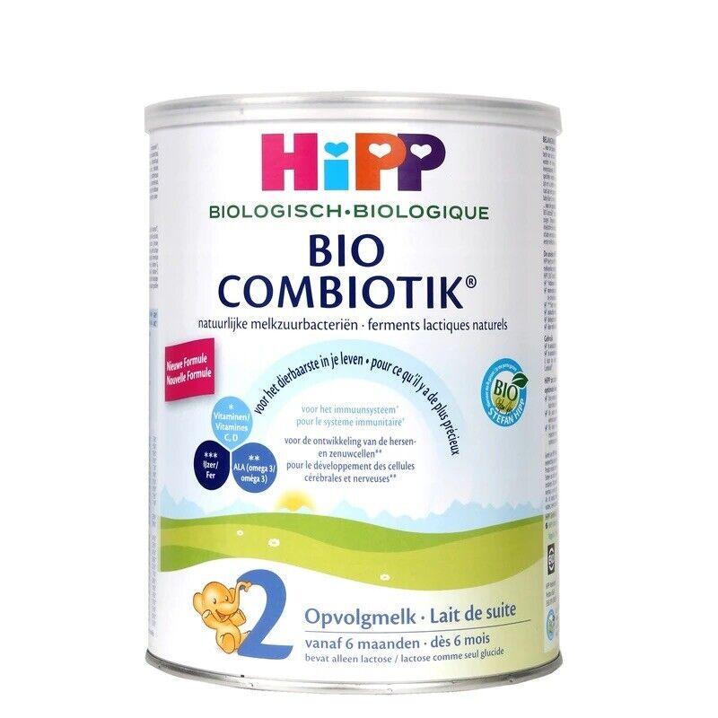 2 Can Hipp Dutch Bio Combiotik Stage 2 Milk Formula 800g Exp 12/2022