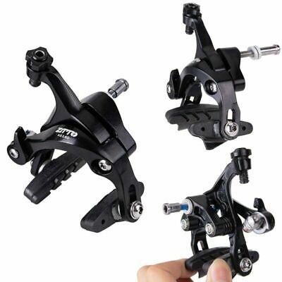1 Par Bicicleta Dual Pivot Calipers Aleación V Abrazadera de Freno con...