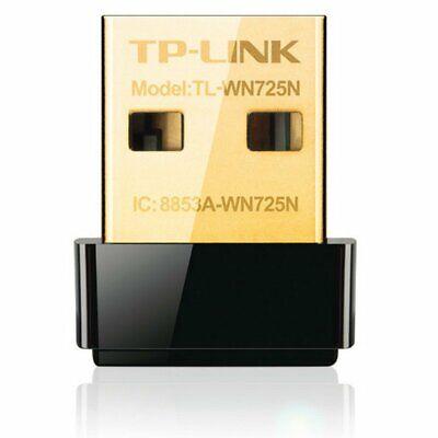 TP-LINK TL-WN725N ADAPTADOR WIFI 150Mbps wireless N Nano USB Tarjeta de Red