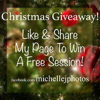 Photo Session Giveaway!!
