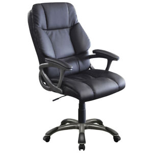 Xenali High Back Manager & Executive Chair - Black New in Box