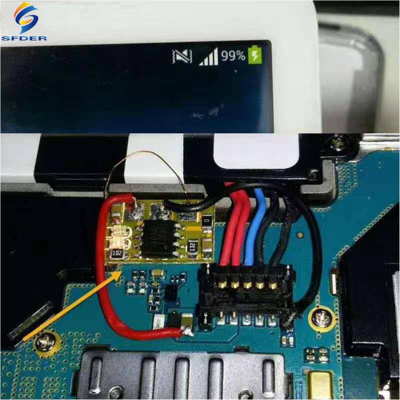 как выглядит 10Pcs Easy Charge IC Chip Board Module Solve Charging Problem фото