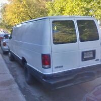 Ford E250 Van 2001 super clean, ready for work! 2950$