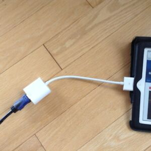 """""""ADAPTER"""" for IPAD 2or3, to watch Ipad on TV"""
