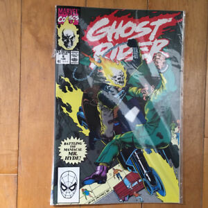 Ghost Rider comic book Volume 2-#4 August 1990
