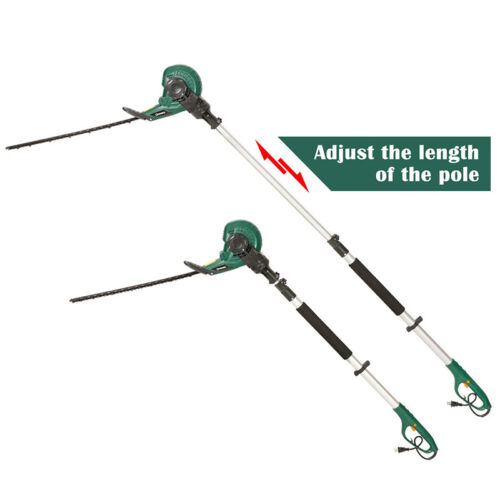 """Electric Corded Hedge Trimmer 18"""" Dual Blade 2 in 1 Multi-An"""