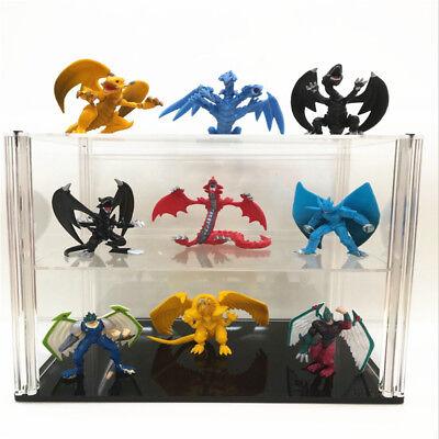 Yu Gi Oh  9 Pcs/set Tormentor  Sky Dragon Ra White Dragon Action Figures Toy