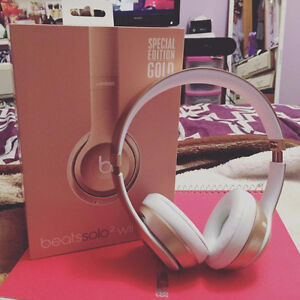 Beats headphones gold edition!!!