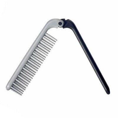 KENT HAIR BRUSH KFM4 FOLDING STYLE TRAVEL BRUSH ALL HAIR TYPES MEN NON SCRATCH
