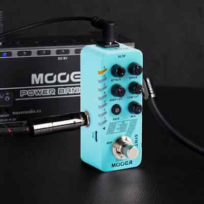 Mooer E7 Polyphonic 7 Types Synth Electric Guitar Bass Effect Pedal True Bypass