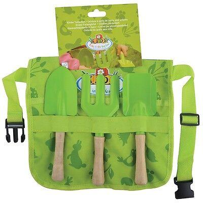 Esschert Design Kinder-Gartenschürze mit Gartengeräten, Werkzeuggürtel KG108