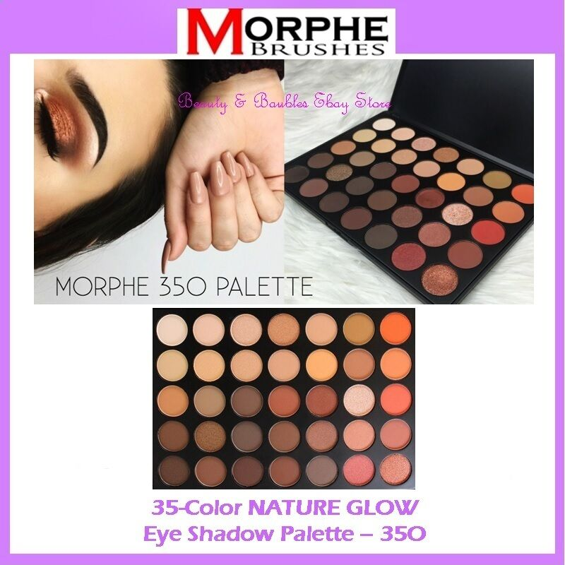 New Morphe Brushes 35 Color Nature Glow Eye Shadow Palette 35o Free Shipping Nib Free shipping is available on orders over $60 sent to destinations within the contiguous u.s. ebayshopkorea