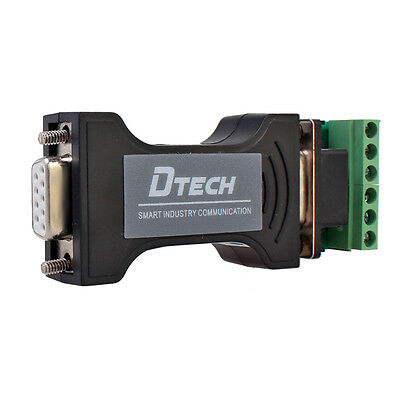 Dtech Rs232 To Rs485 Rs422 Serial Adapter Converter 9 Pin Data Communication