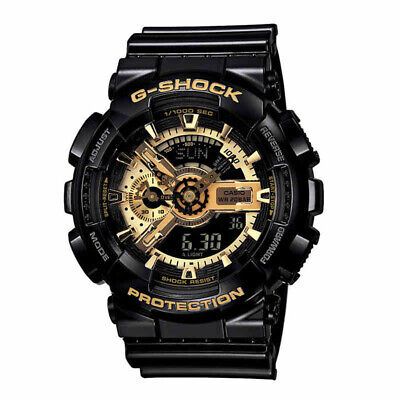 Casio G-Shock Digital Anti-Magnetic Black Mens Watch GA110GB-1A