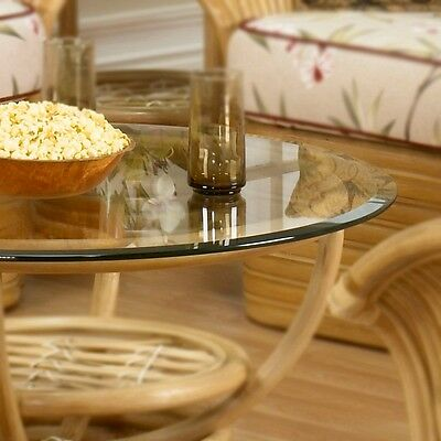 Beveled Glass Top Table - Clear Round Glass Table Top 24