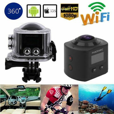 Full HD Action Wifi Camera Sport Camcorder DVR Helmet Remote