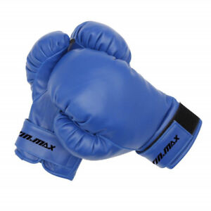Blue Win Max Junior Kids Boxing Gloves New in Packaging