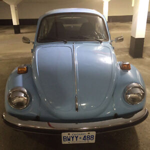 Fabulous condition baby blue Beetle