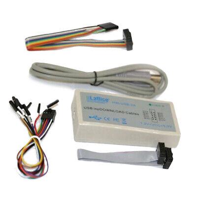 Usb Downloader Jtag Isp Programmer Cable Lattice Fpga Cpld Hw-usbn-2 For Windows