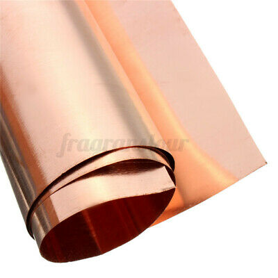 99.9 Copper Foil Tape Shielding Sheet 200 X 500mm Double-sided Conductive Roll