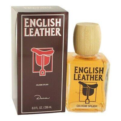 ENGLISH LEATHER by DANA * HUGE 8/8.0 oz (236 ml) Cologne Splash NEW & SEALED