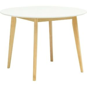 Urban Nordic Arthur Round White Dining Table Sydney City Inner Sydney Preview