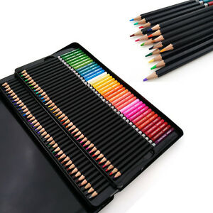 Oil Base Art Sketching Drawing Pencils Set For Artist Sketch Non-toxic 72 Colors