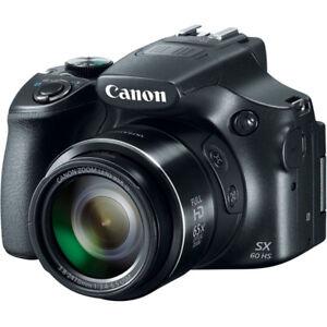 Canon PowerShot SX60 HS Camera, 65x Zoom