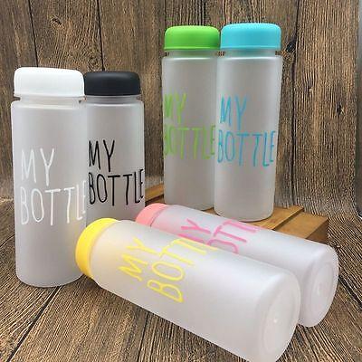 Popular Clear My Bottle Sport Fruit Juice Water Cup 500ML Portable Travel Bottle