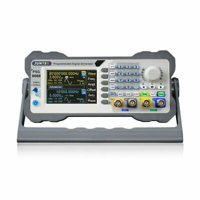 80mhz 2 Ch Programmable Dds Arbitrary Waveform Function Signal Generator Psg9080