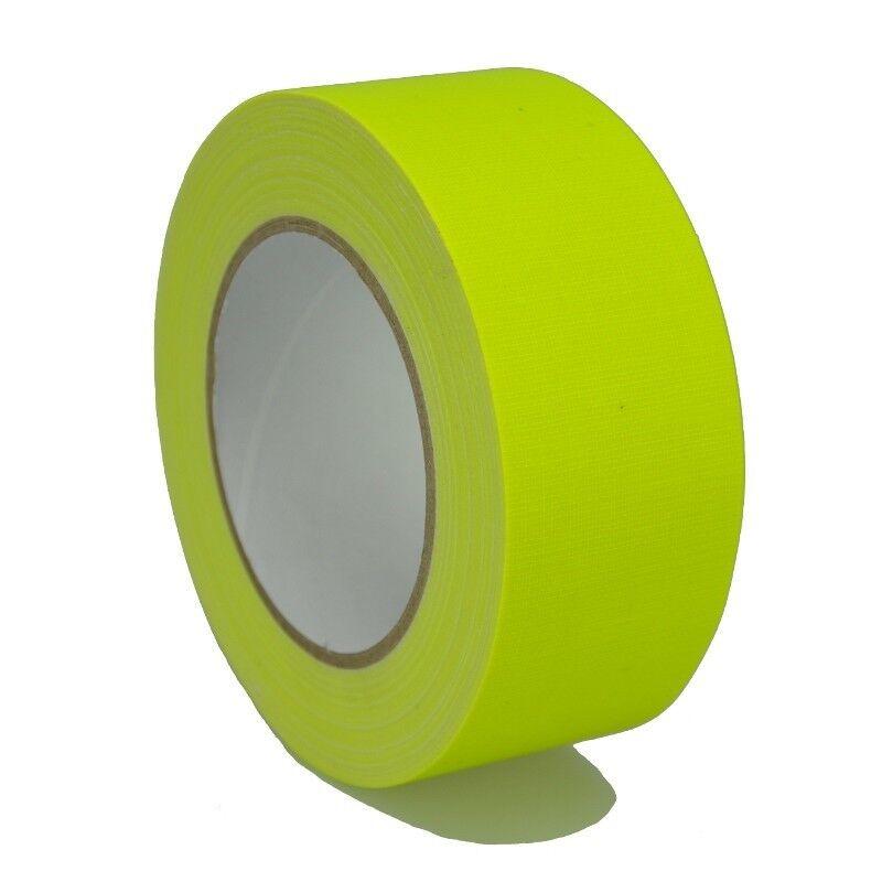 Marking Tape 649-50GE 1 31/32in x 82 0/12ft Gaffer Neon Yellow Matte Marker
