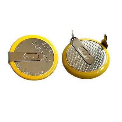 2X Battery LIR2025 Car key Batterys Fit For BMW E60 E81 E91 E92 X5 FOB key  for sale  Shipping to Canada