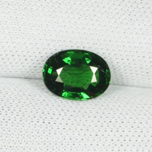 1.36 ct Lustrous CHROME GREEN NATURAL TSAVORITE GREEN GARNET   See Vdo 3228 G