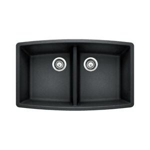Blanco 400499 Performa U 2 Double Undermount Kitchen Sink