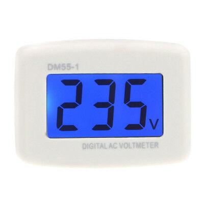 Dm55-1 Ac 80-300v Lcd Digital Voltmeter Us Plug-in Electric Pen Meter S5b4
